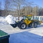 Snöröjning och bortforsling av snö Linköping