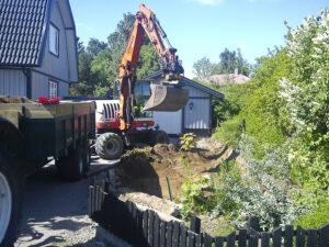 Gräva garageuppfart i Ljungsbro
