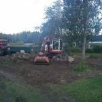 Anläggning av gräsmatta Ljungsbro