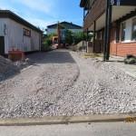 Anläggning av ny garageuppfart i Linköping