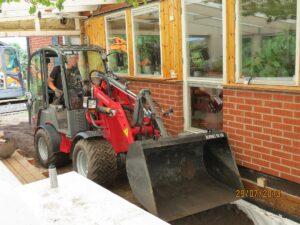 Med rätt storlek på maskinerna för varje jobb går det snabbare och blir bättre slutresultat!